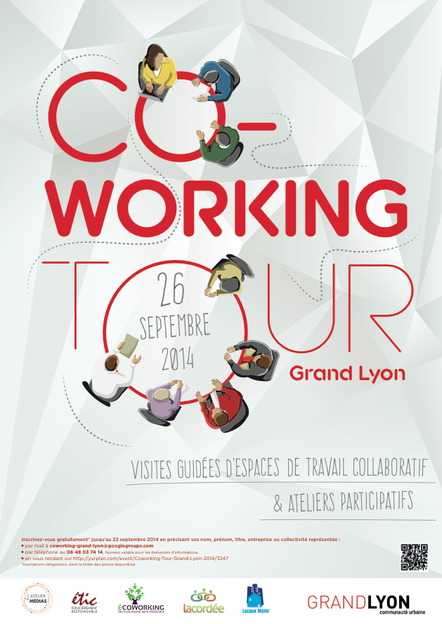 coworking tour vendredi 26 septembre 2014 ecoworking espace de coworking lyon. Black Bedroom Furniture Sets. Home Design Ideas